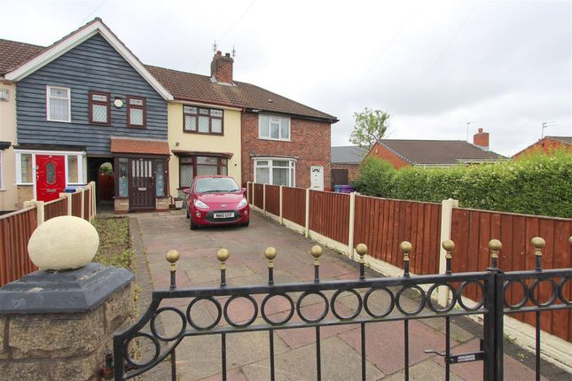 Thumbnail Town house for sale in Somerford Road, Dovecot, Liverpool