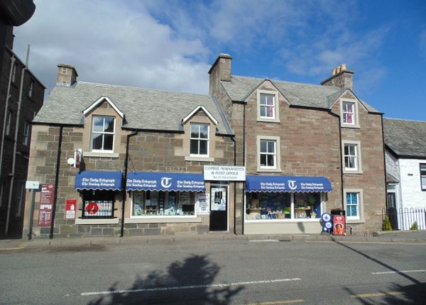 Thumbnail Retail premises for sale in Bridge Street, Comrie, Near Crieff, Perthshire