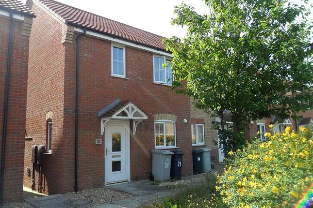 Thumbnail Semi-detached house to rent in Curtis Drive, Coningsby