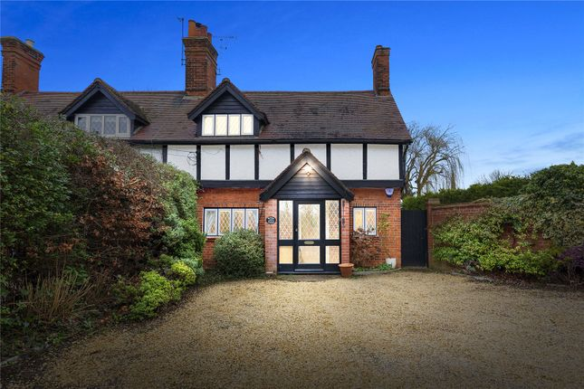 Thumbnail Semi-detached house for sale in Chequers Road, Noak Hill