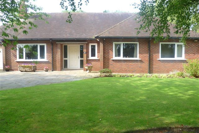 Thumbnail Bungalow for sale in Middle Lane, Buglawton, Congleton, Cheshire