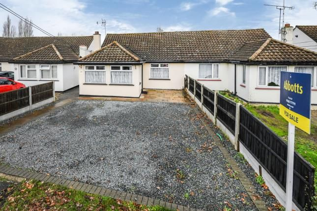 Thumbnail Bungalow for sale in Runwell, Wickford, Essex