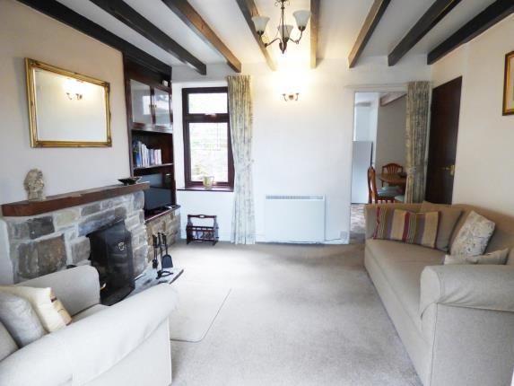 Living Room of Main Street, Taddington, Buxton, Derbyshire SK17