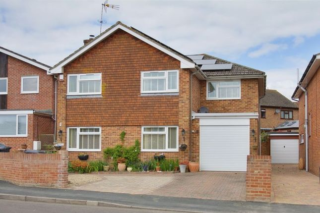 Thumbnail Detached house for sale in Tower Close, Charlton, Andover