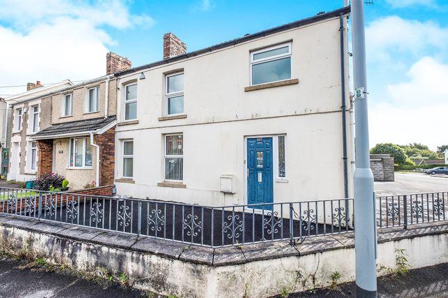 Thumbnail End terrace house for sale in Llangyfelach Road, Tirdeunaw, Swansea