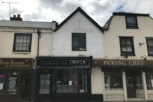 Thumbnail Commercial property for sale in 112 High Street, Brentwood, Essex
