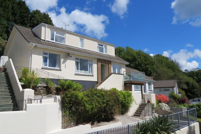 Thumbnail Detached house for sale in Trenance Road, St Austell, St. Austell