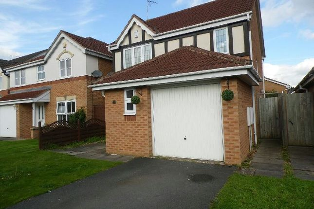 Thumbnail Detached house to rent in Jewsbury Way, Thorpe Astley, Braunstone, Leicester
