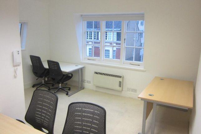 Thumbnail Office to let in Dorset Street, London