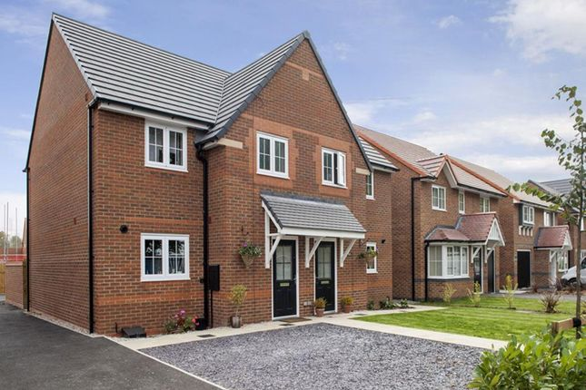 "Thumbnail Semi-detached house for sale in ""Oakham"" at Winnington Avenue, Northwich"