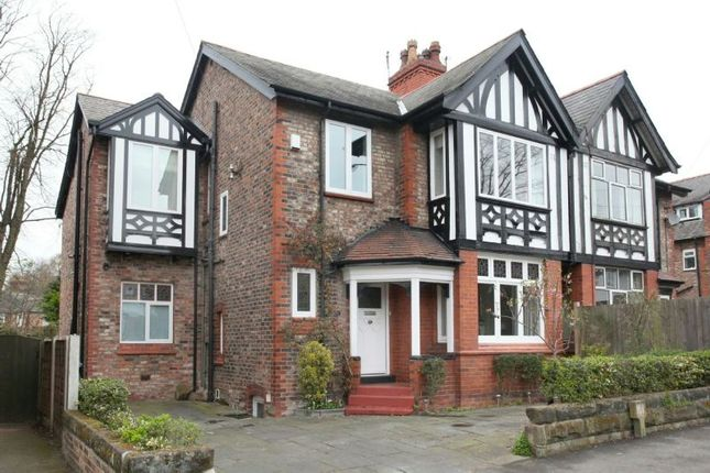 Thumbnail Semi-detached house to rent in Westgate, Hale, Altrincham