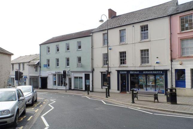 Thumbnail Retail premises to let in Blue Street, Carmarthen