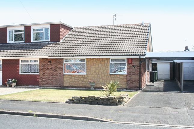 Thumbnail Semi-detached bungalow for sale in Lydgate Road, Kingswinford