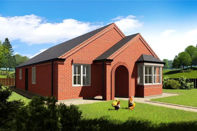 Thumbnail Detached bungalow for sale in Spire View, Boston Road, Heckington, Lincolnshire