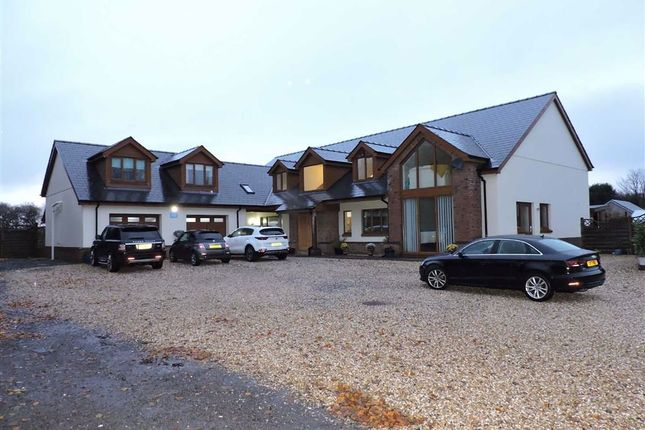 Thumbnail Detached house for sale in Black Lion Road, Gorslas, Llanelli