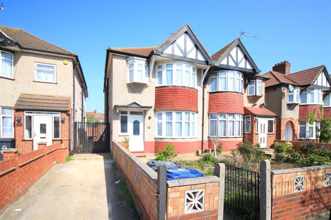 Thumbnail Semi-detached house to rent in Kenton Avenue, Southall, Middlesex