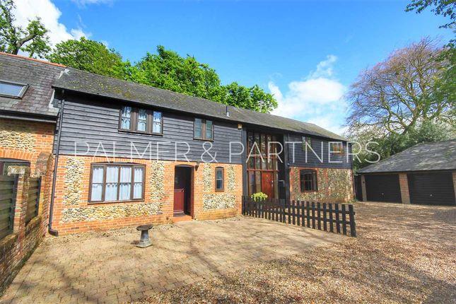 Thumbnail Terraced house for sale in Tye Green, Glemsford, Sudbury