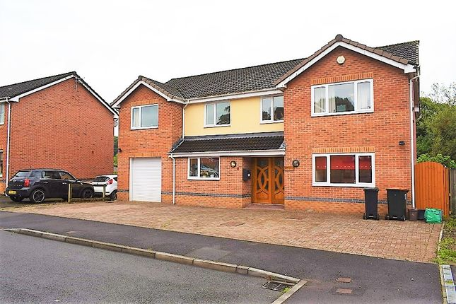 Thumbnail Detached house for sale in Bishpool View, Newport