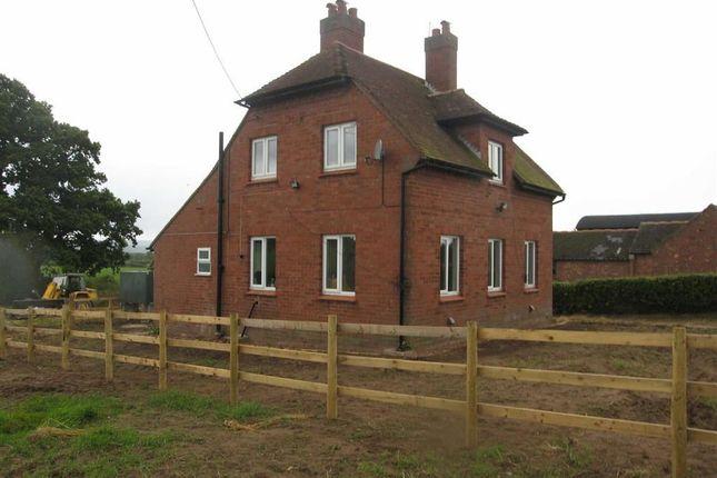 Thumbnail Detached house to rent in Montford Bridge, Shrewsbury