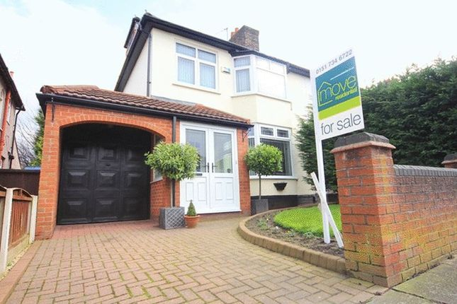 Thumbnail Semi-detached house for sale in Rudston Road, Childwall, Liverpool