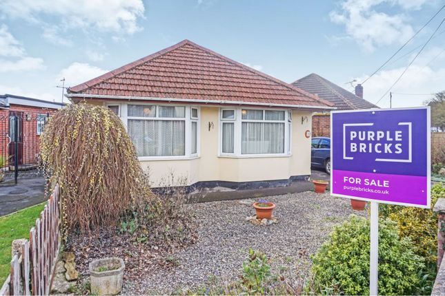 Thumbnail Detached bungalow for sale in Warwick Road, Totton Southampton