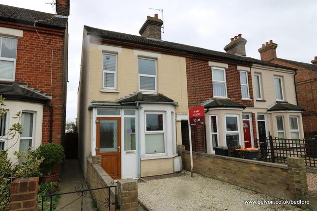 Thumbnail Terraced house to rent in Bedford Road, Willington, Bedford