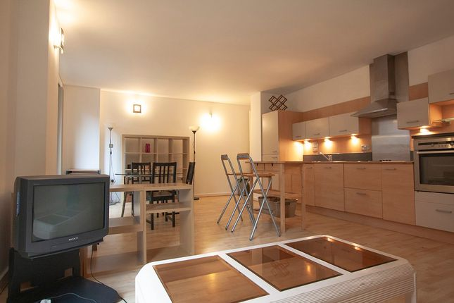 Open Plan Living To Kitchen Area