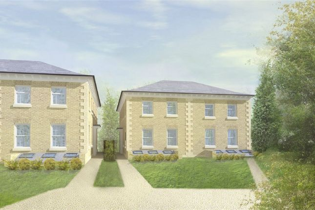 Thumbnail Town house for sale in Chilbolton Avenue, Winchester