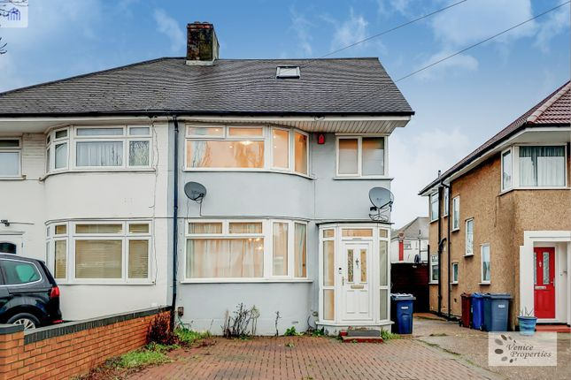 Thumbnail Semi-detached house to rent in Hermitage Way, Stanmore