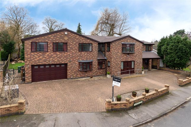 Thumbnail Detached house for sale in Ringers Close, Leicester