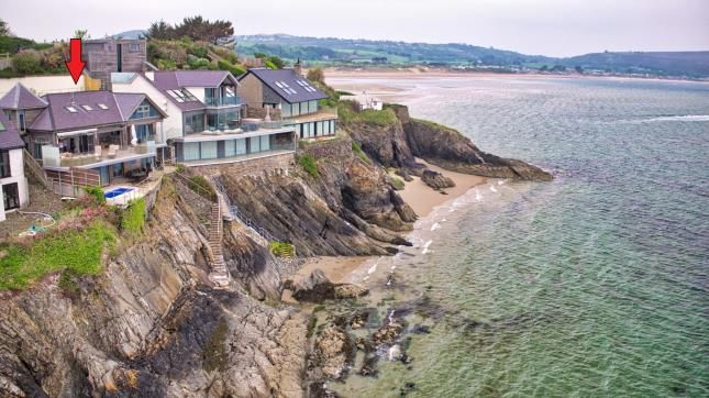 Thumbnail Detached house for sale in Benar Headland, Abersoch, Gwynedd, .
