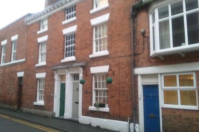 Thumbnail Terraced house for sale in Chapel Street, Wem, Shrewsbury