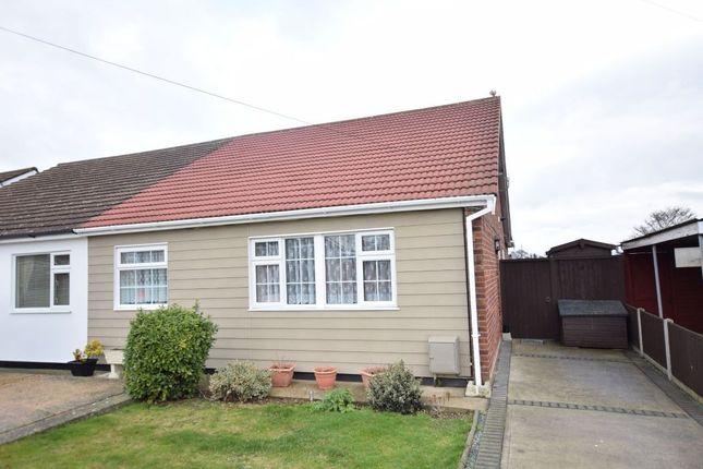 Thumbnail Semi-detached bungalow for sale in Keswick Avenue, Holland-On-Sea, Clacton-On-Sea