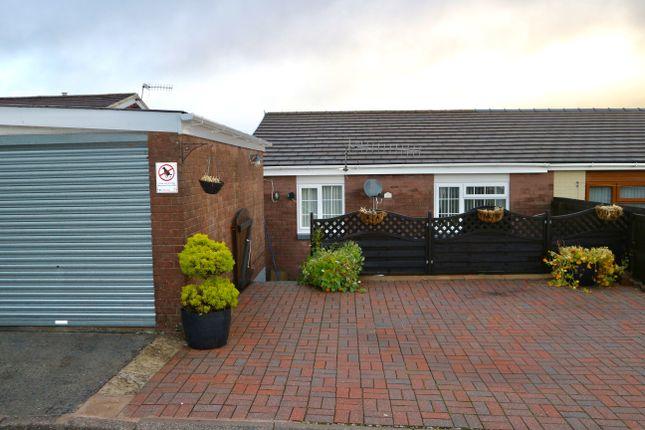 Thumbnail Semi-detached bungalow for sale in Caernarvon Grove, Castle Park, Merthyr Tydfil