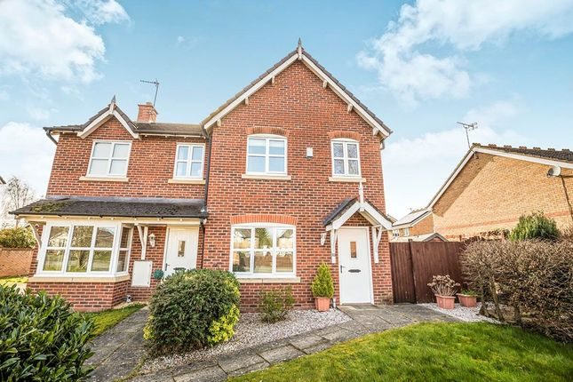 Thumbnail Semi-detached house for sale in Trinity Close, Gobowen, Oswestry