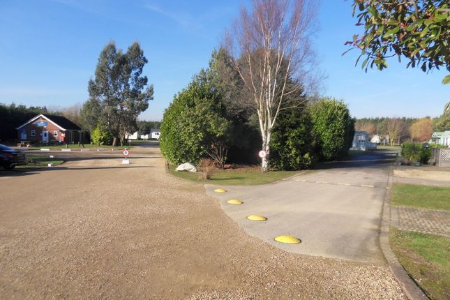 Site View of Silverhill Holiday Park, Lutton Gowts, Lutton, Spalding, Lincolnshire PE12