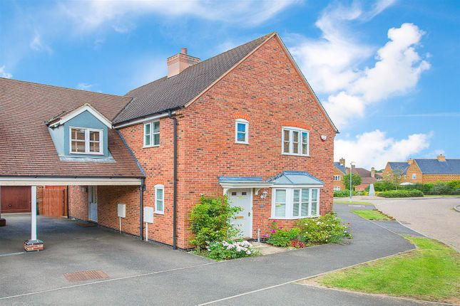 Link-detached house for sale in Glover Court, Middleton, Market Harborough