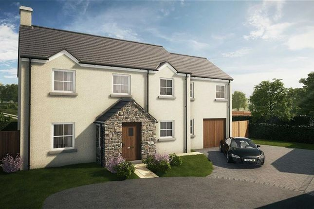Thumbnail Detached house for sale in Gower Court, Mayals, Swansea, Swansea