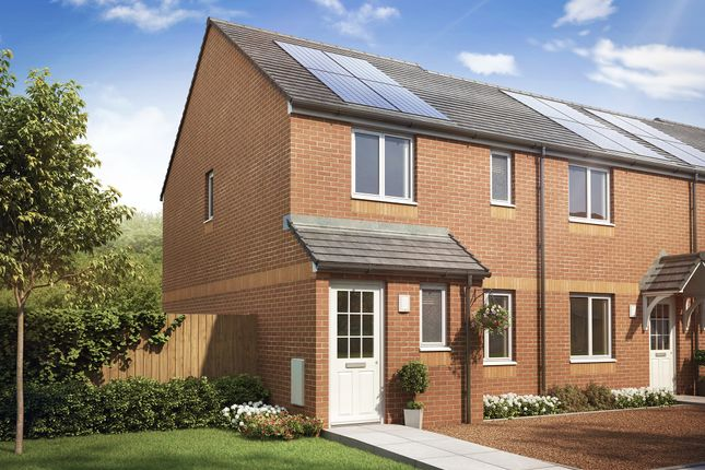 """Thumbnail End terrace house for sale in """"The Newmore"""" at Newfield Gardens, Stonehouse, Larkhall"""