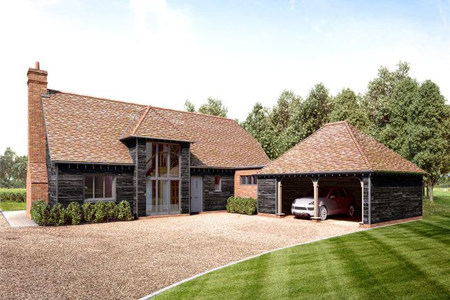 Thumbnail Detached house for sale in Pirbright, Woking