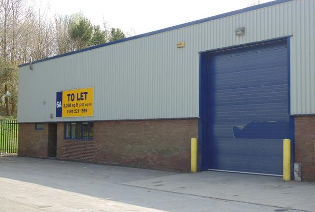 Thumbnail Light industrial to let in Unit 6A, Medomsley Road, Number One Industrial Estate, Consett