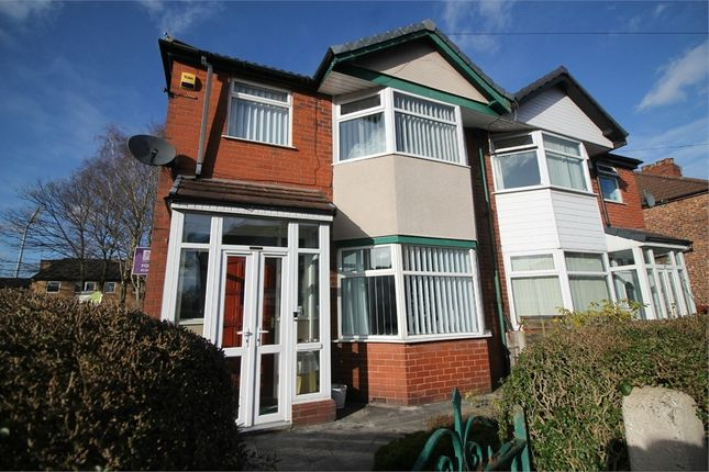 Thumbnail Semi-detached house for sale in Wilton Avenue, Stretford, Manchester