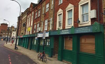 Thumbnail Restaurant/cafe to let in Deptford Church Street, London