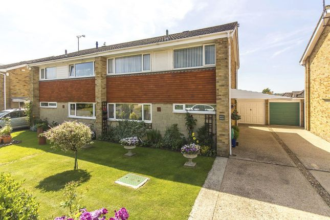 Thumbnail Semi-detached house for sale in Ainsdale Close, Folkestone