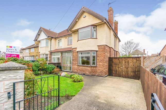 Thumbnail Semi-detached house for sale in Derwent Road, Meols, Wirral