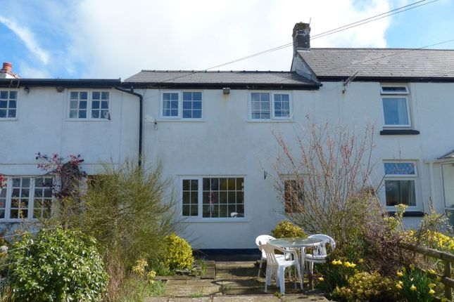 Thumbnail Terraced house to rent in Llechfaen, Brecon