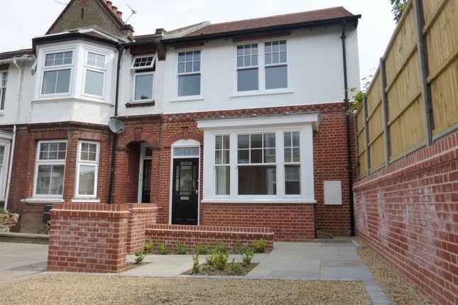 Thumbnail End terrace house for sale in Kingsley Road, Norwich