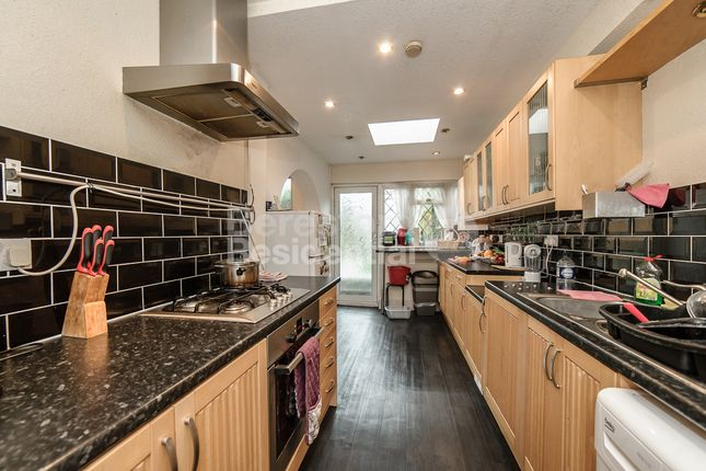 Thumbnail End terrace house to rent in Grangecliffe Gardens, London