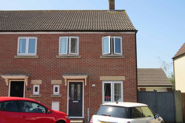 Thumbnail End terrace house to rent in Chaffinch Chase, Gillingham, ., Dorset