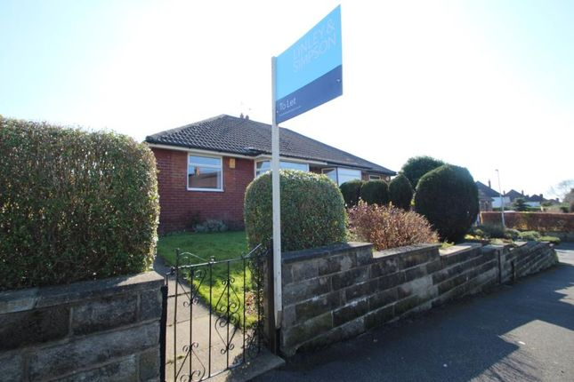 2 bed semi-detached bungalow to rent in Tinshill Lane, Cookridge LS16